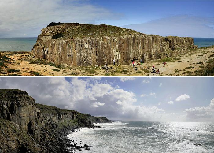 Panoramas del Morro Este y del Teclado