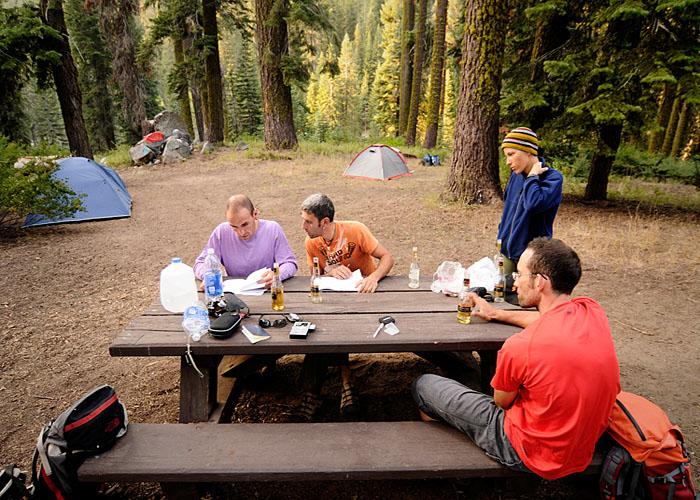 Quarkin Aspen Campground, nuestro hotel en medio del Sequoya Ntnl. Park