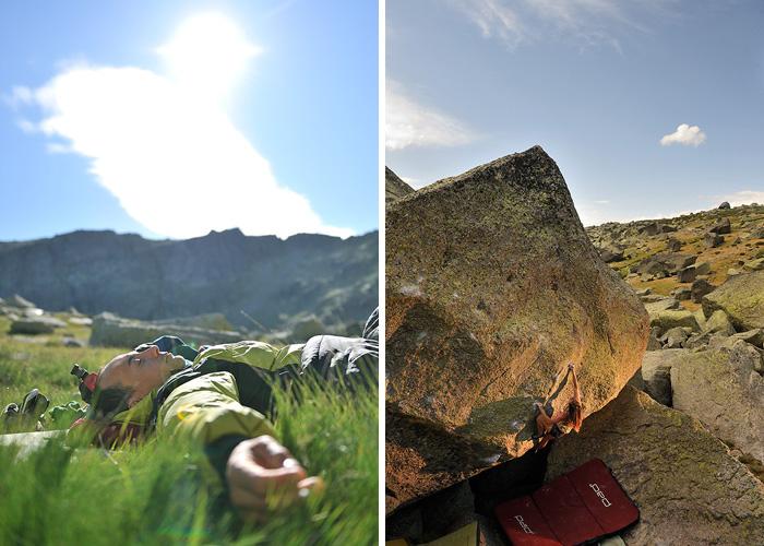 Manu y el sol de la mañana/Marina encadenando con clase