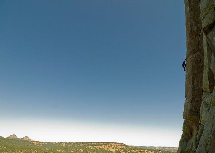 Sean Nebl en Mistery Express,la vía más dura de la torre (y es de placa)