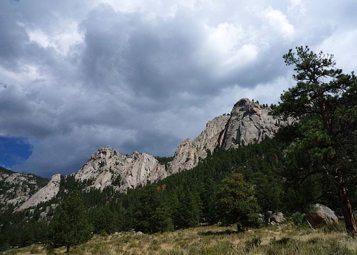 Lumpy Ridge. Las Rockies más amables.