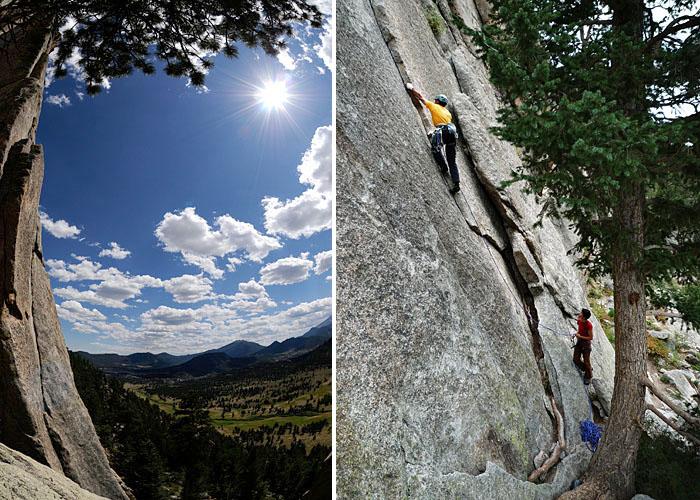 Lumpy Ridge, Estes Park. Praderas a 3500 metros.