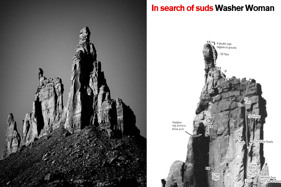 In Search of Suds, Washer Woman. Canyonlands National Park