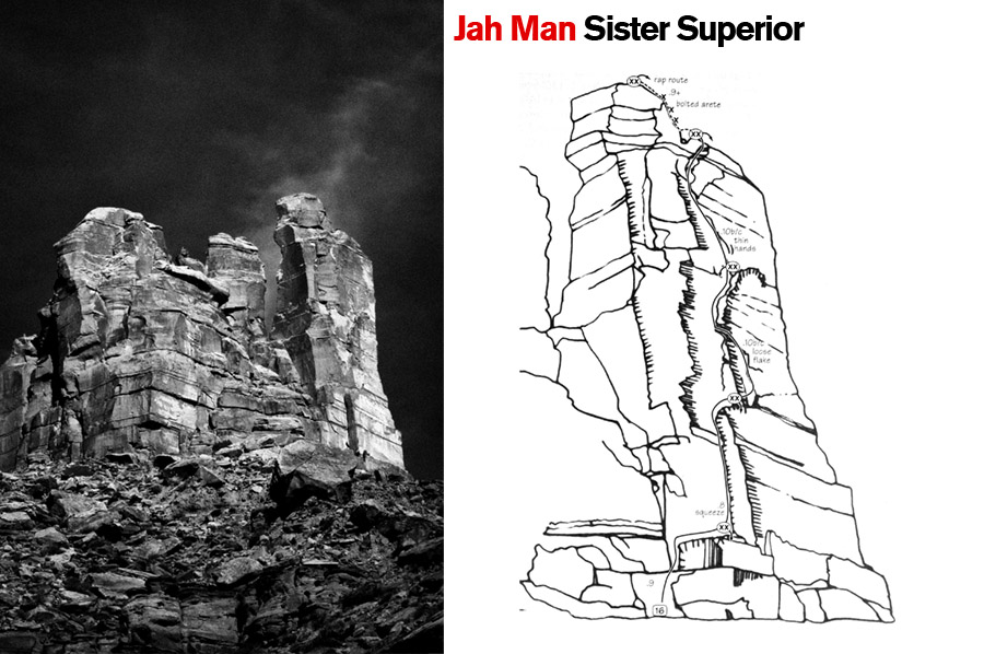 Jah Man, Sister Superior. Castle Valley