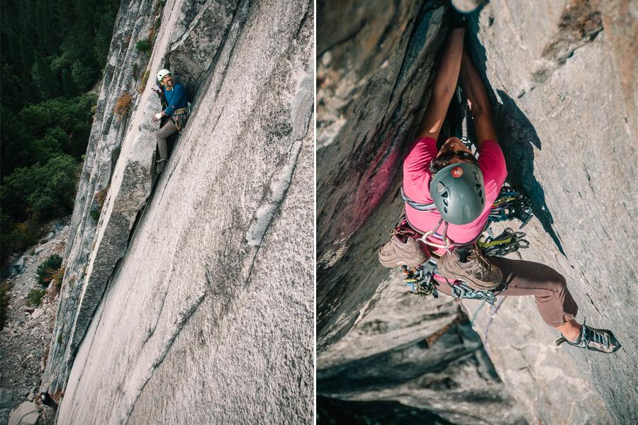 """César impone el Galayos style en Yosemite: """"esto lo subo yo andando hacia atrás"""""""