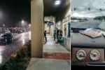 Las Vegas no es una cuidad seca. Cuando llueve se moja como las demás… y la lluvia es gasolina para nuestro ansiómetro.